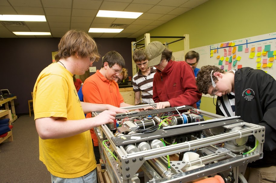 Safety First for High School Robotics Team