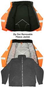 Radians Hi-Viz Bomber Jacket Interior