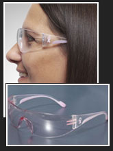 PIP Eva Safety Glasses are available in normal, petite and bifocal versions.