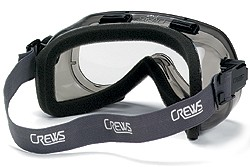 The Crews Verdict Splash Goggles are a popular choice for chemical splash protection.