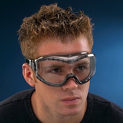 Splash Goggles are a must when working with chemicals or other hazardous fluids.