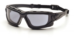 The Pyramex I-Force Safety Glasses feature a dual pane lens for increased anti-fog properties.