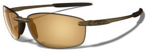 Polarized Sunglasses like the Revo Overhang greatly reduce glare and help increase contrast and depth perception.
