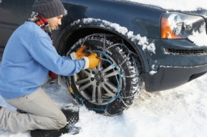 Winter car maintenance