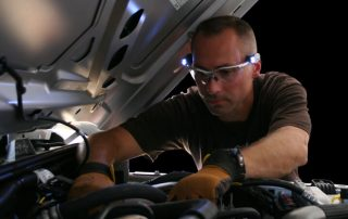 LED Safety Glasses Mechanic