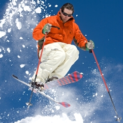 Choosing the right lens tint for your sunglasses can enhance your skiing experience.