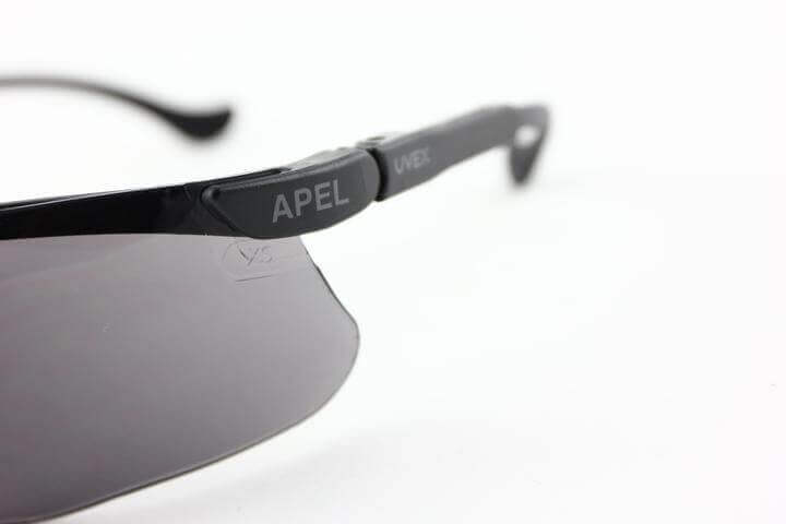 APEL eyewear marking example