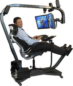 You don't need to resort to extreme measures to implement good ergonomic practices.