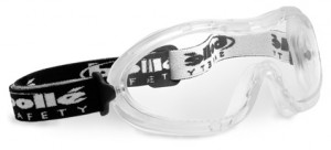 Smaller goggles like the Bolle Nitro are designed for small faces and provide better protection.
