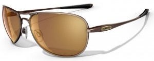 Revo Transom Titanium Sunglasses with Polished Brown Frame and Polarized Bronze Lens