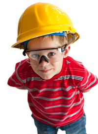 Earning Our Straight A's: Safety Glasses For Kids