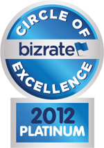 Bizrate Circle Of Excellence Platinum Award