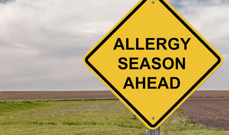 Allergy Season Ahead