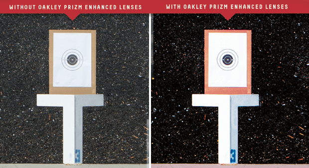 Shooting Target Differences With Prizm Lens Technology
