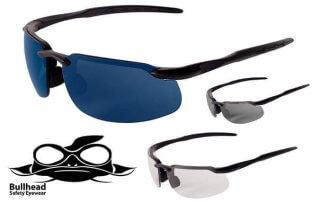 Bullhead Kingfish Safety Glasses with Polarized/Photochromic Lenses
