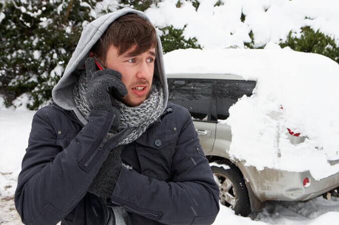 Stranded In Snow