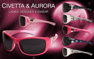 Edge Civetta and Aurora Women's Safety Sunglasses
