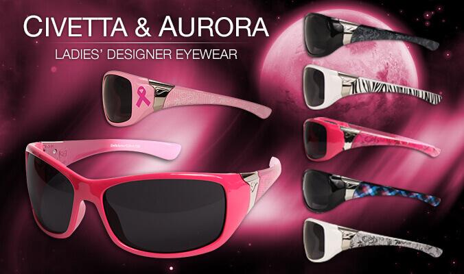 Edge Civetta and Aurora Women's Safety Sunglasses