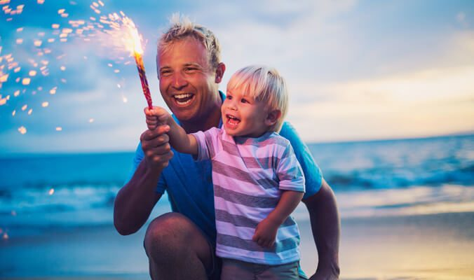 Father & Son Fireworks