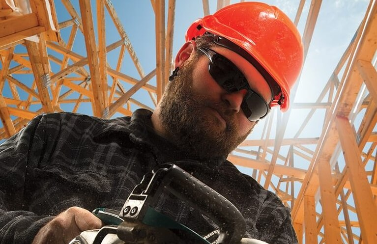 Construction Worker Edge Safety Glasses