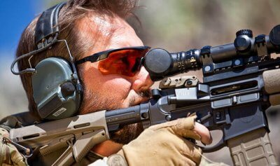 Ballistic-rated Eyewear
