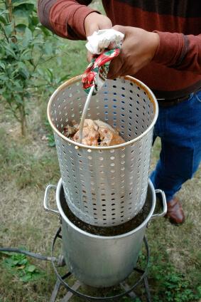 Deep Frying Turkey