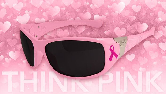Valentine's Pink Safety Glasses
