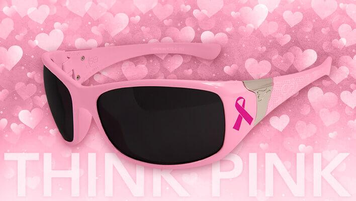 Pink Safety Glasses