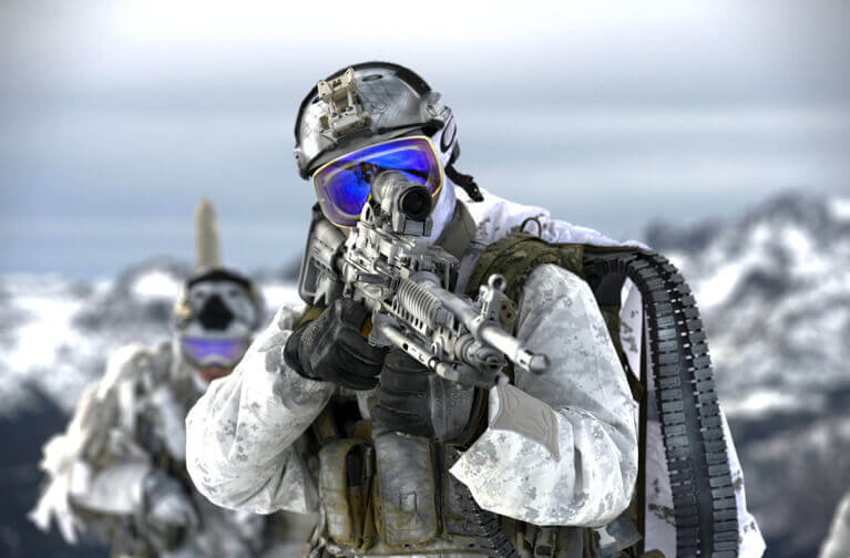 Navy Seals In Mountains