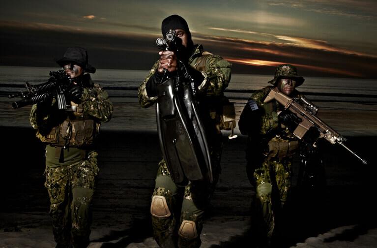 Navy Seals On Land