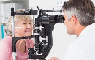 Cataract Eye Exam
