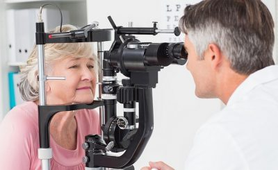 Cataract Eye Exam