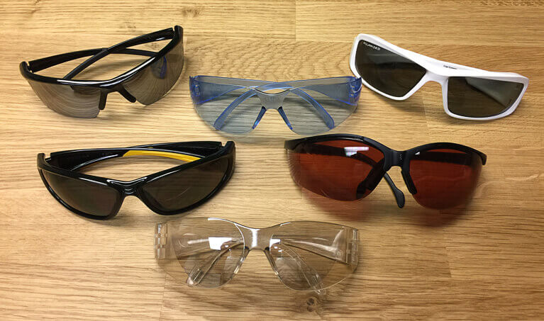 Selecting Safety Glasses