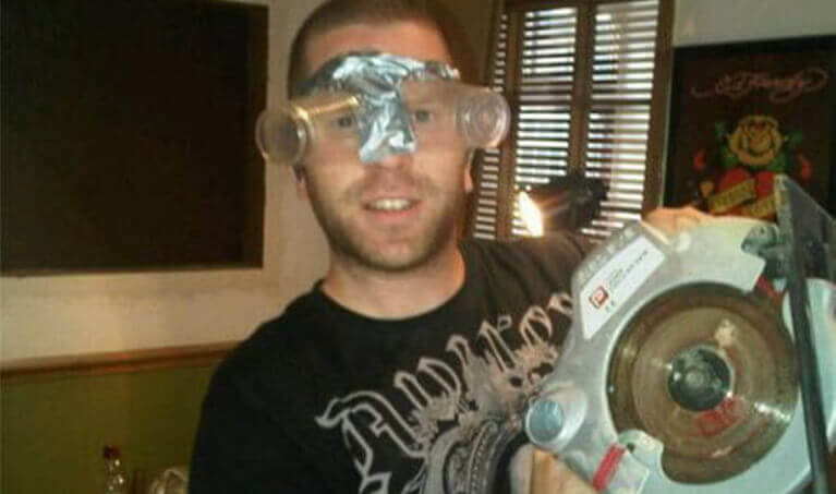 Homemade Safety Glasses