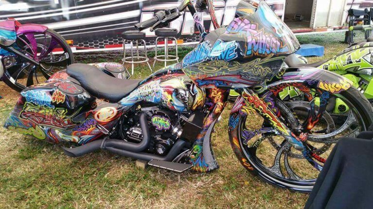 Psychedelic Bike Week