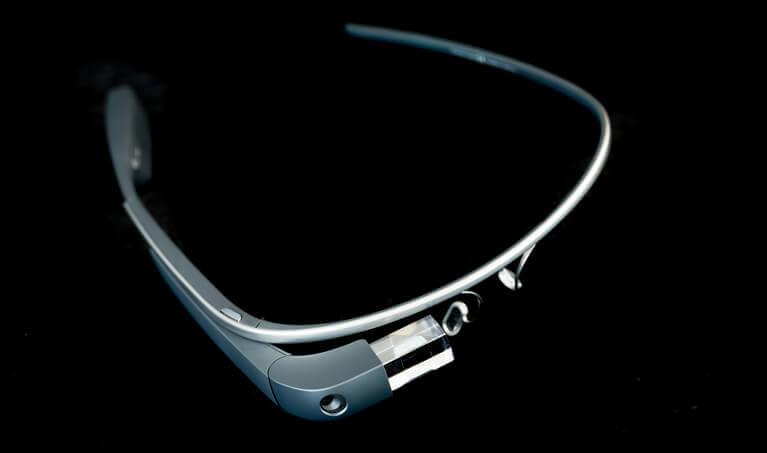 Google Glass 3/4 View