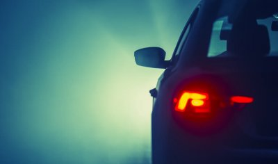 Driving In Fog Nighttime