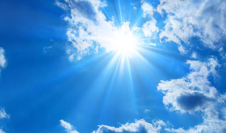 Sun Blue Sky