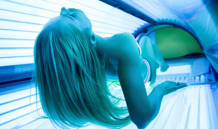 Tanning Bed UV Rays