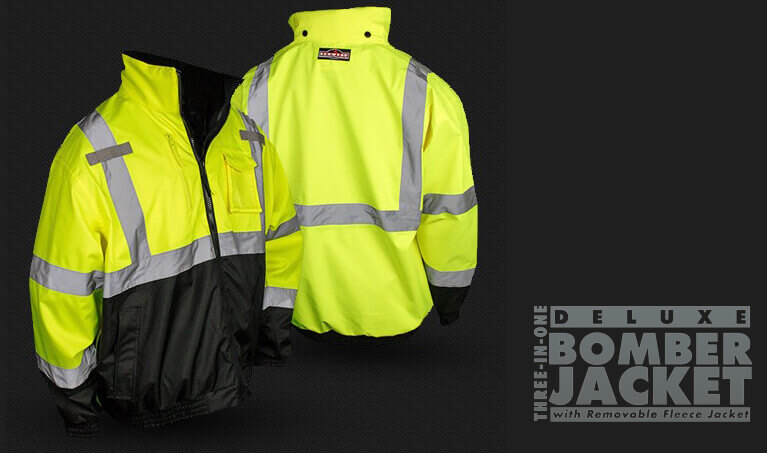 Radians Hi Viz Safety Jacket