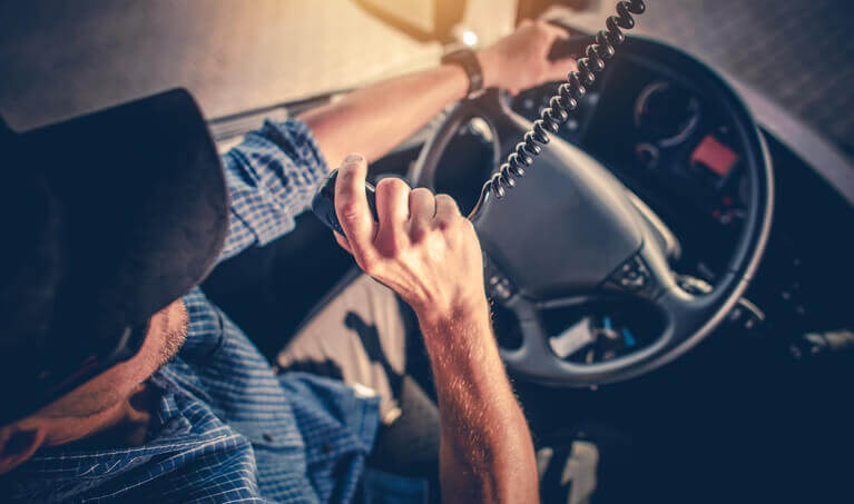 Truck Driver CB Radio