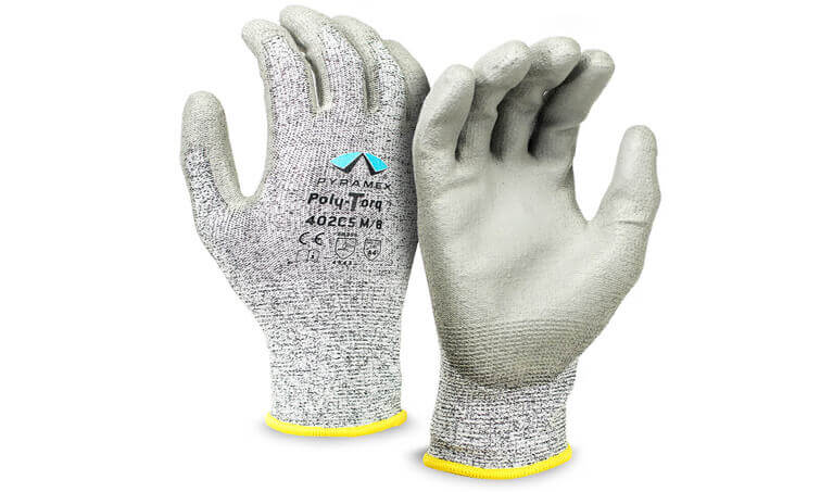 Pyramex GL402C5 Series Poly-Torq Cut-Resistant Gloves
