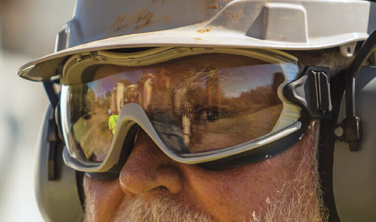 Pyramex Capstone Ballistic Safety Goggles