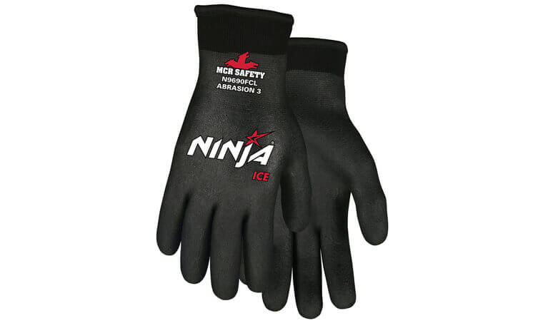 MCR Ninja Ice Cold-Weather Work Gloves