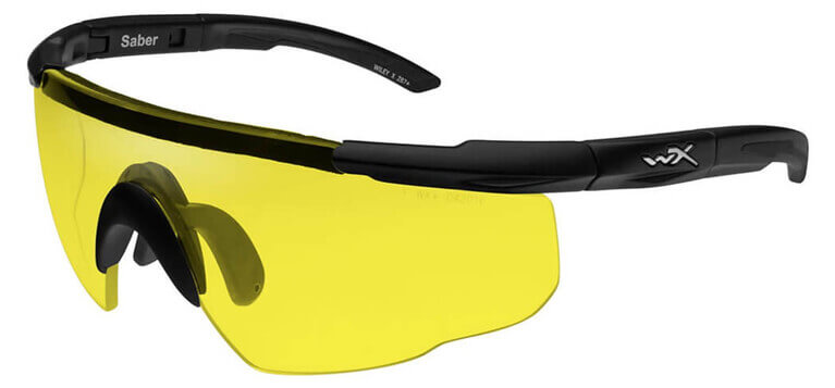 Wiley X Saber Advanced Ballistic Safety Glasses