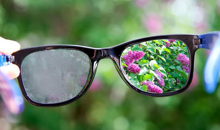 Preventing Fogging Glasses