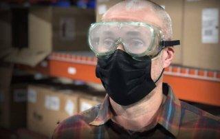 Fogged Glasses While Wearing Mask