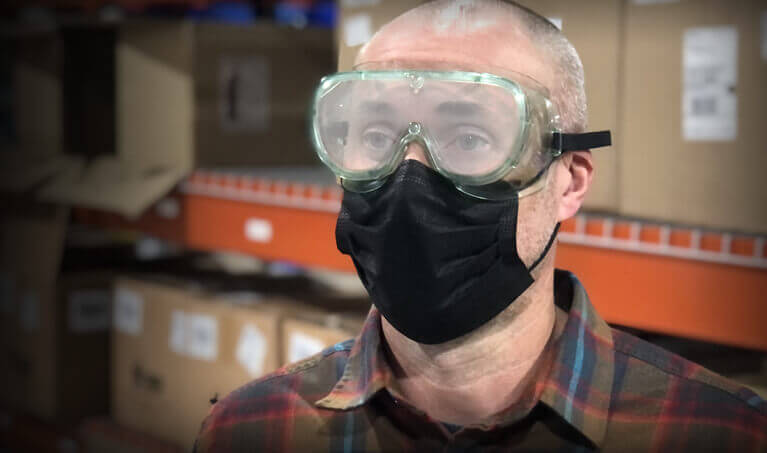 Fogged Glasses While Wearing Mask