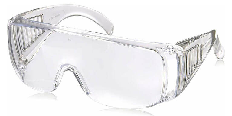 Radians Chief OTG Safety Glasses